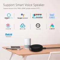 Adaptateur de telecommande infrarouge Wifi intelligent universel  prise en charge de lassistant Google  fonctionne avec Alexa Echo Google Home