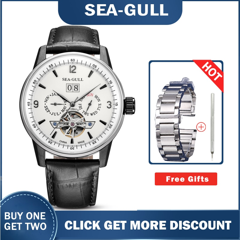 Men's Watches Seagull  219.328 Automatic Mechanical Self Winding Classic Flywheel Watches for Men 2020 Luxury enlarge