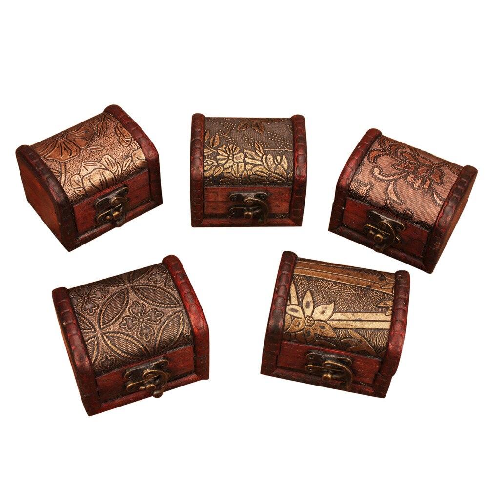 Caja de madera hecha a mano, organizador de almacenamiento, joyería, pulsera, estuche de perla, regalo, accesorios para el hogar, accesorios para el hogar