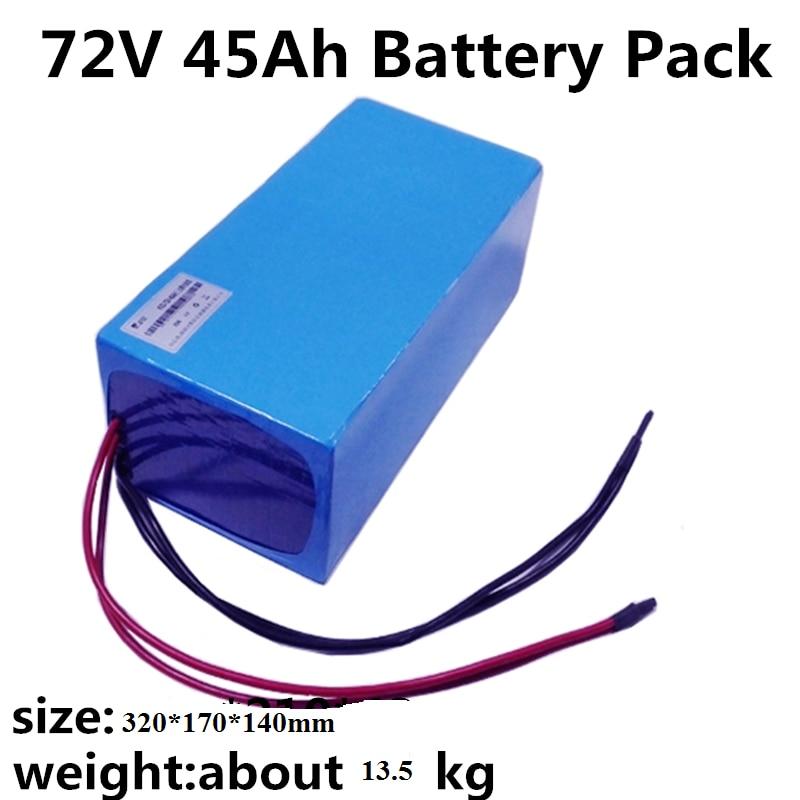 Batería de iones de litio de alta calidad 72V 45Ah 3000W con...