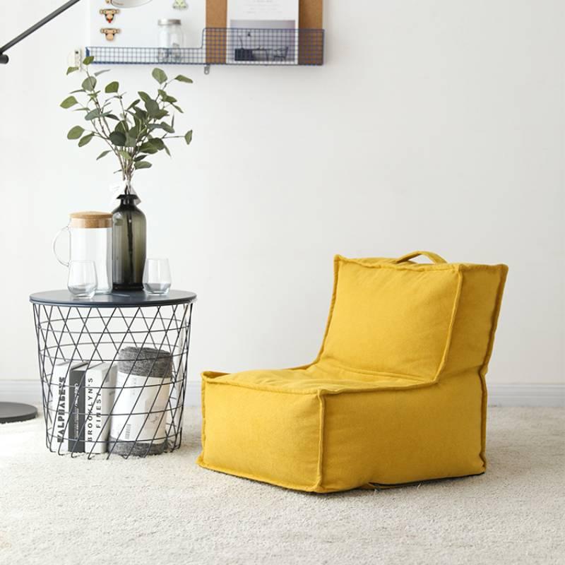 Sillas De Comedor Silla Infantil Lazy Sofa Single Детская мебель Tatami Living Room Bedroom Balcony Chair Backrest Child Seat