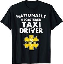 Nationally Registered Taxi Driver EMS EMT Paramedic Men's T Shirt