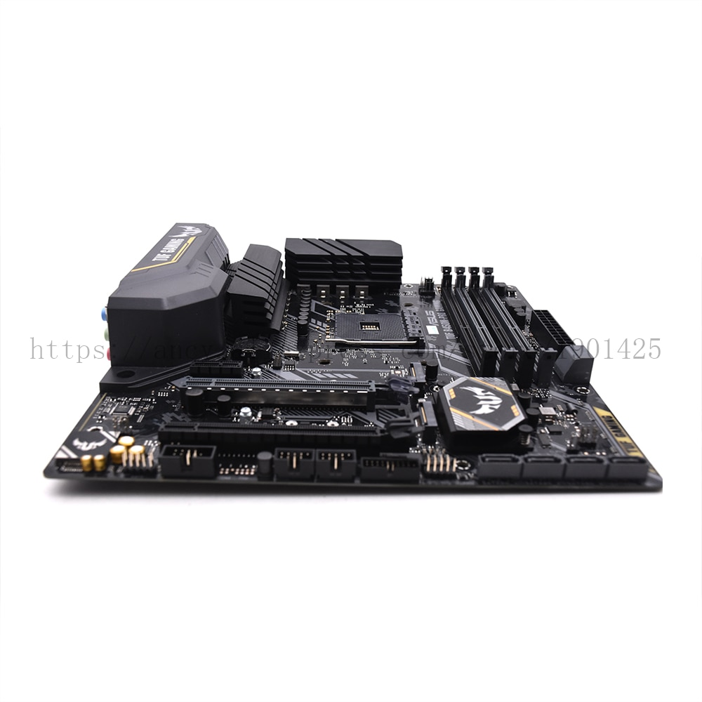 Used,ASUS Motherboard TUF B450m-Pro GAMING MATX Motherboard Supports CPU 3700X/3600X/3600/2600