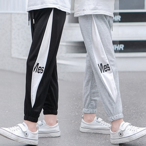 New Explosion Stitching Solid Color Summer Trousers Boy Girl Clothing Anti-Mosquito Pants Comfortable Casual Girls Boys Clothes