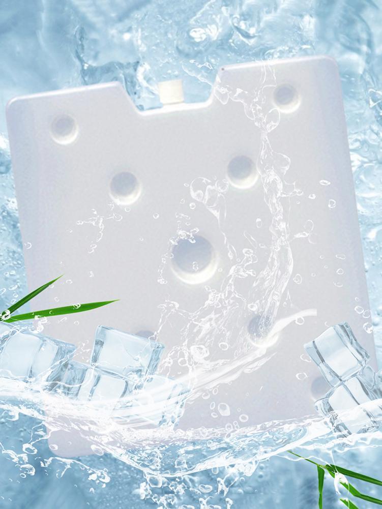 1100ml-2000ml fresco fresco fresco branco reciclável do congelador do refrigerador mantendo o bloco de gelo magro seguro e durável mantêm o alimento fresco para piqueniques 1 pces