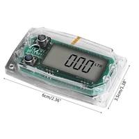 p82d turbine flow meter electronic digital flow meter meter display chip accessory liquid water die sel gasoline methanol