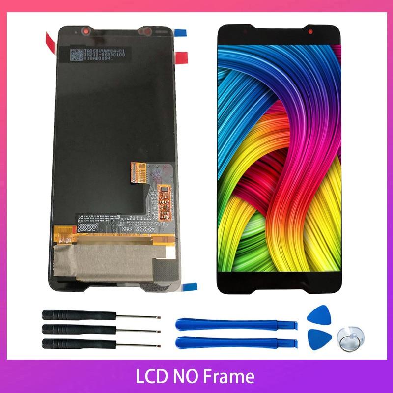 10-Touch Original Amoled pantalla para Asus ROG teléfono Zs600kl Z01QD de piezas de repuesto digitalizador Asamblea