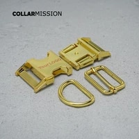 100pcslot metal buckleadjust buckled ringset 25mm diy dog collar accessory 8 kinds engraved buckle customize logo
