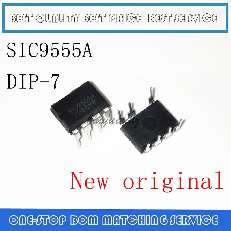 5 pçs/lote SIC9555A SIC9555 DIP-7 original Novo