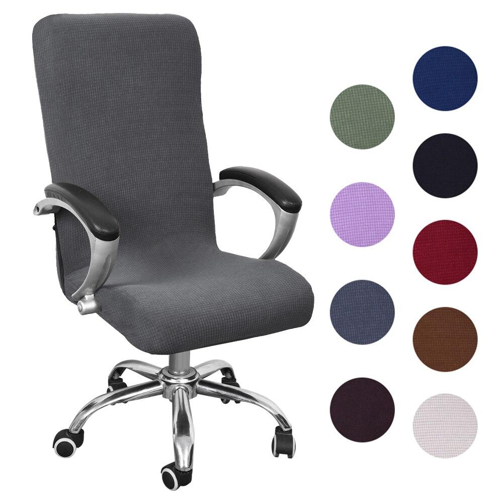 Urijk S/M/L эластичные чехлы на кресла, вращающийся эластичный чехол для офисного кресла, съемный клетчатый чехол на кресло, боковая молния