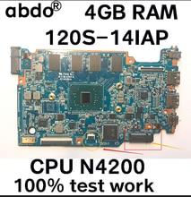 120S_MB_V3.0 마더 보드 용 Lenovo 120S-14IAP 120S 노트북 마더 보드 CPU N4200 4GB RAM 100% 테스트 작업
