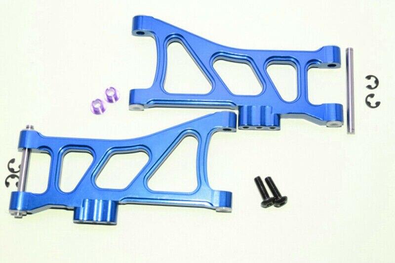 TT-02B de aleación de aluminio RC brazos inferiores traseros para Tamiya TT02B chasis accionado por eje 1/10 Buggy coche todoterreno
