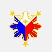 hot creativity philippines flag nautical star cover scratch bodywork car sticker decal sunscreen suv interior 1413cm