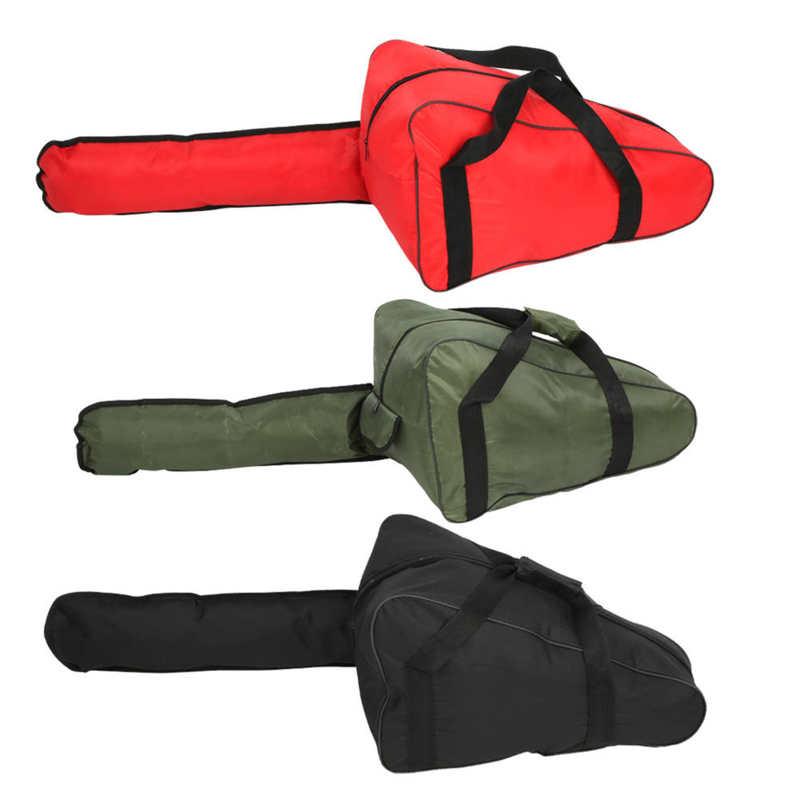 Сумка для хранения инструментов для бензопилы, водонепроницаемая переносная сумка для бензопилы из ткани Оксфорд, переносной чехол для бен...