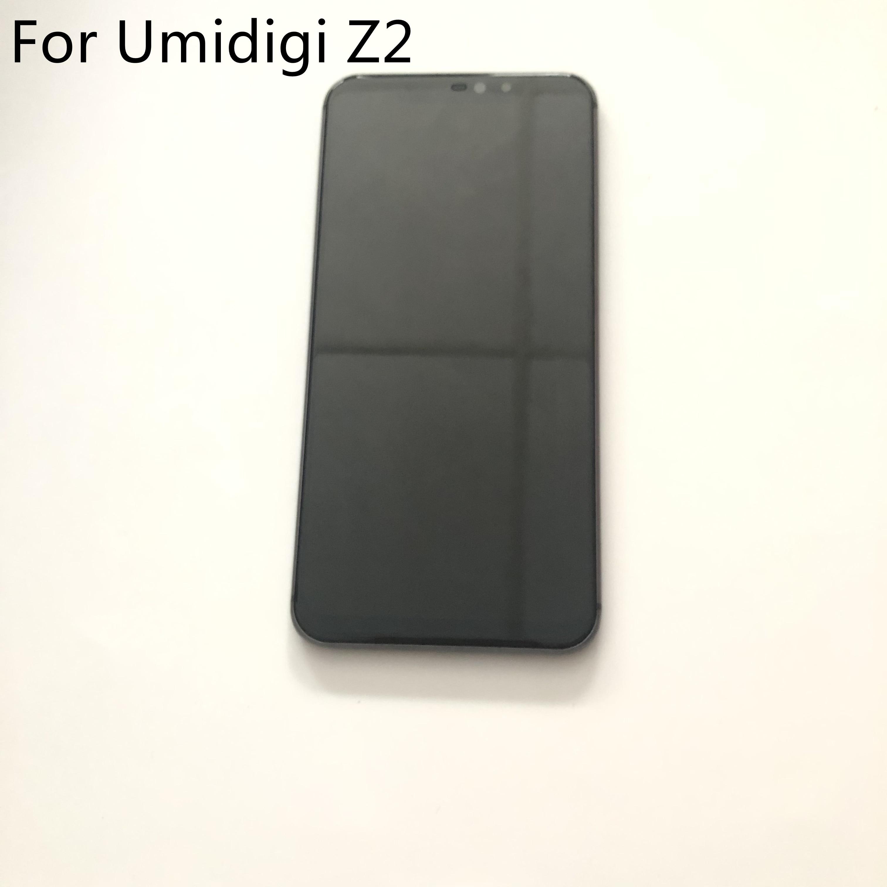 "Pantalla LCD Umidigi Z2 usada + pantalla táctil + marco para Umidigi Z2 MTK6763 Octa Core 6,2 ""2246x1080 envío gratis"