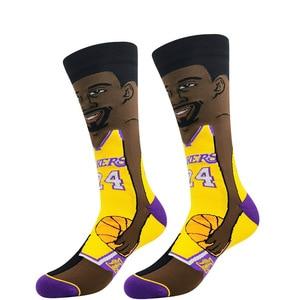 3 пары 2021 Новинка спортивные носки Томпсон мужские носки Длинные и средние Носки полностью хлопковые дезодорирующие зимние спортивные носки