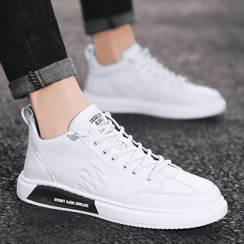Zapatos De cuero genuino para hombre zapatillas De deporte casuales Tenis Masculino Adulto Zapatos Mocassin Homme para Hombre Zapatos De abrigo De lujo