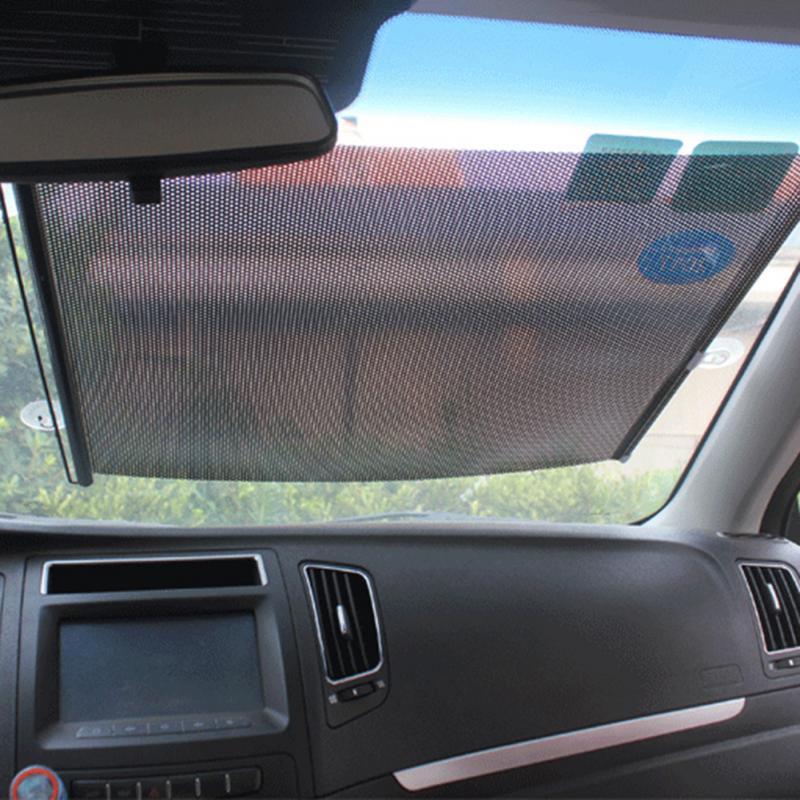 Cubierta de protección solar nueva para verano, aislamiento térmico, parasol enrollable para ventana de coche, persiana enrollable para coche de 40*60CM, accesorios para coche TXTB1
