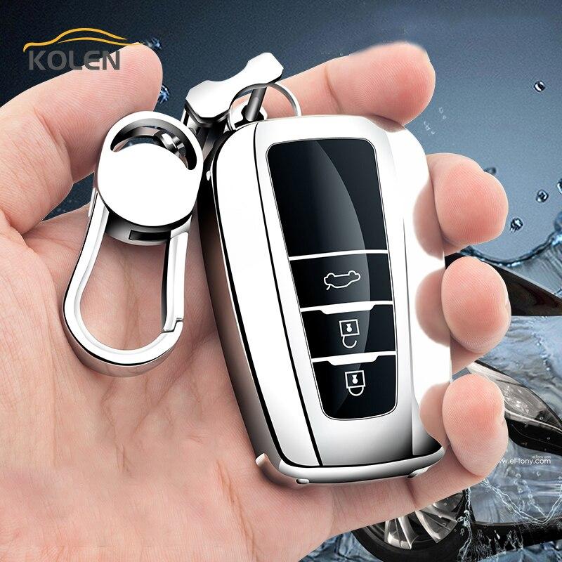 aliexpress.com - Soft TPU Car Remote Key Case Cover Shell Fob For Toyota Prius CHR C-HR Camry Corolla RAV4 Avalon Land Cruiser Prodo Accessories