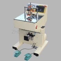 220v cnc fully automatic photo frame nailing machine tool picture frame cross stitch mount seamless frame angle cutter equipment