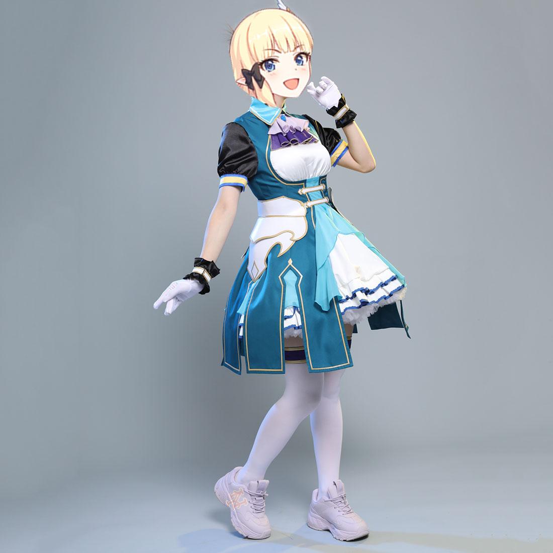 La Princesa conectar a buceo Saren Sasaki vestido de caballero uniforme encantador Anime Cosplay disfraces para niños juguetes educativos-XL L M S XS