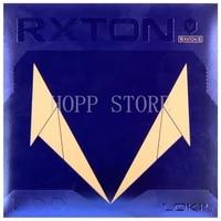 loki rxton 5 rxton v table tennis rubber sticky rubber high density sponge original wang hao rxton 5 ping pong sponge