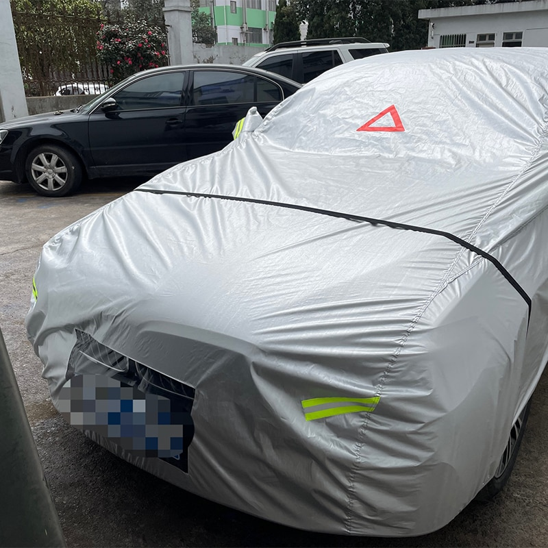 HOLVWOW Special Design Car Cover Fully Waterproof Breathable Rain Dust Sun UV All Weather Protection Sedan Car Cover