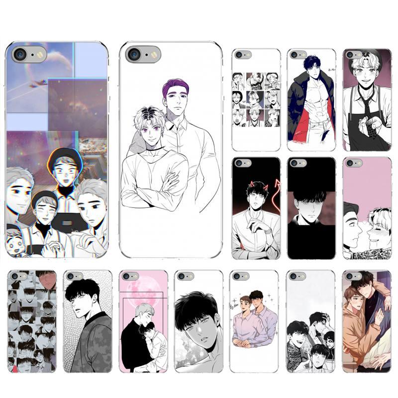 LVTLV Anime bj alex Telefon Fall für iPhone 11 12 pro XS MAX 8 7 6 6S Plus X 5S SE 2020 XR fall