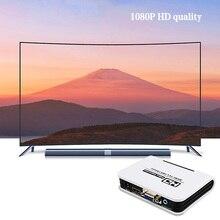 Accueil HD 1080P équipements vidéo HDMI vers VGA convertisseur boîte Audio adaptateur Miracast Anycast Android Netflix Youtube