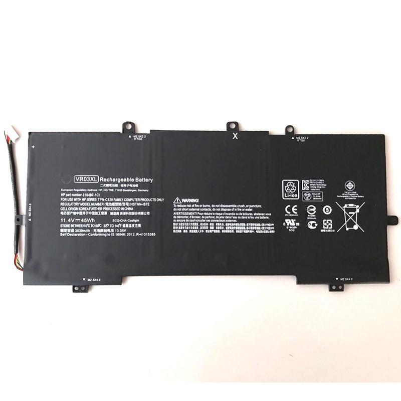 Batería Original de Lapotp VR03XL 11,4 V 45Wh para batería de portátil HP ENVY13-D046TU D051TU D024TU