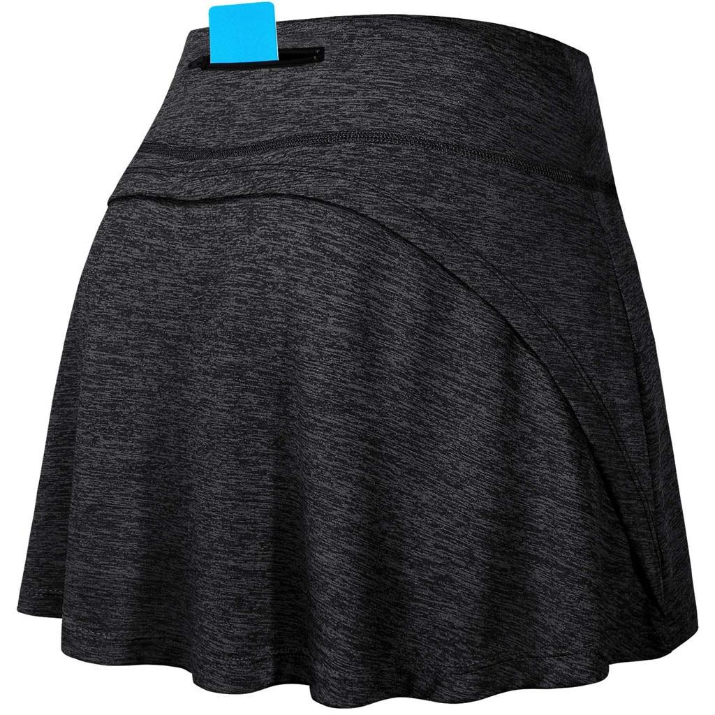 Faldas de tenis para correr yoga pantalones cortos interiores elásticos deportes Golf bolsillos pantalones cortos bádminton tenis deportes uniforme chica Golf desgaste p2