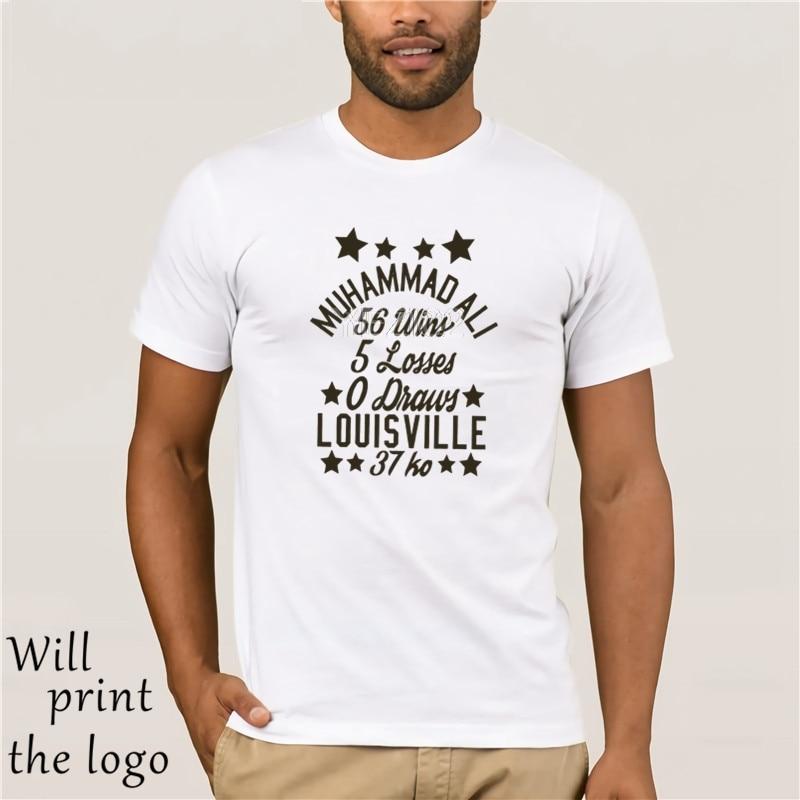 Camiseta de manga corta MUHAMMAD ALI para hombre GINGER STARS