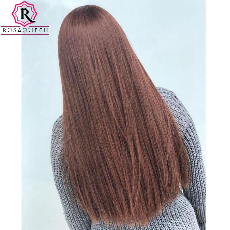 Peluca kosher judía doble dibujada pelo virgen europeo sin procesar peluca personalizada de alta calidad Base de seda reina superior Rosa