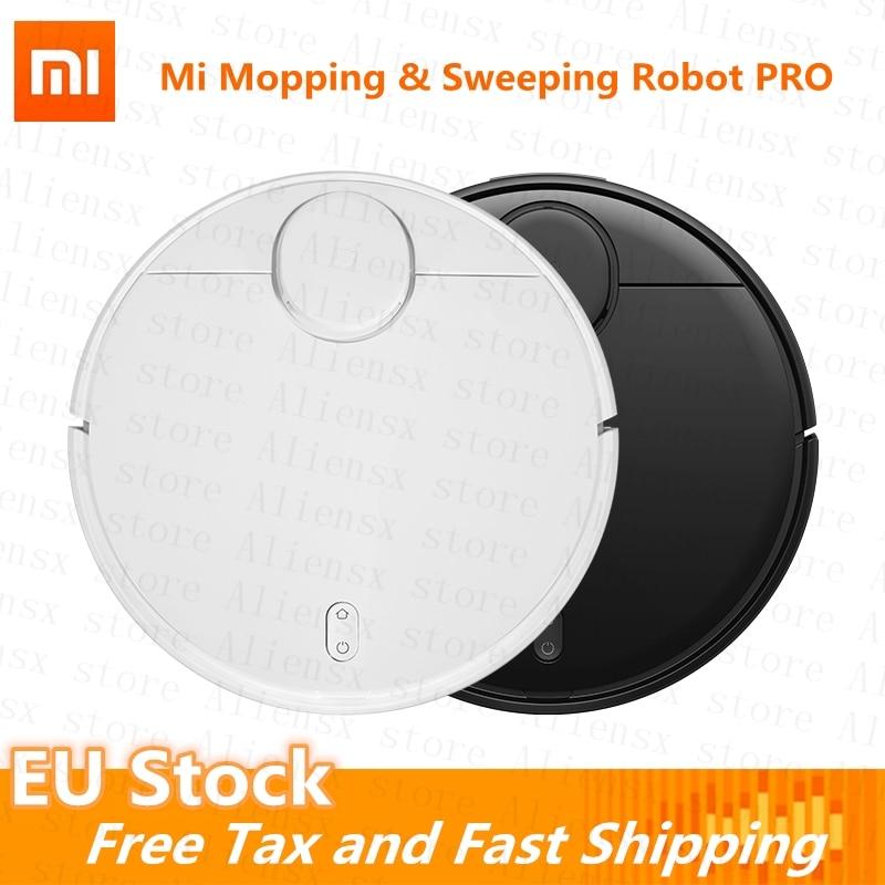 [UE Stock]Xiaomi MiJIA RP Pro aspiradora Robot fregona y barrido STYJ02YM modelo 2100Pa versión Global de Control de la aplicación