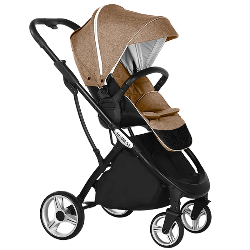 Dearest Baby Stroller Portable Travel Stroller Foldable Baby Carriage Aluminum Frame High Landscape Newborn Car Stroller