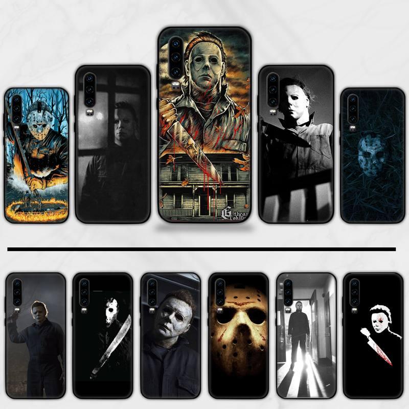 Michael Myers Halloween Friend Tv Horror Phone Case For Huawei P9 P10 P20 P30 Pro Lite smart Mate 10 Lite 20 Y5 Y6 Y7 2018 2019