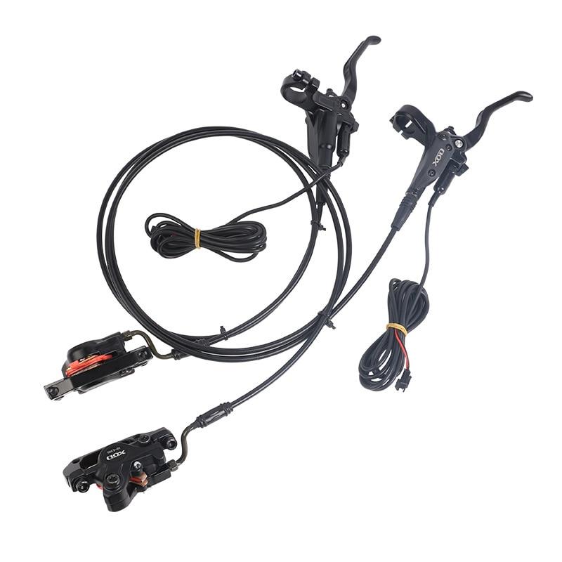 E-Bike MTB Hydraulic Disc brake Set Aluminum Alloy Electric Power Control Shifter Bicycle Brakes XOD LF-RR / LR-RF
