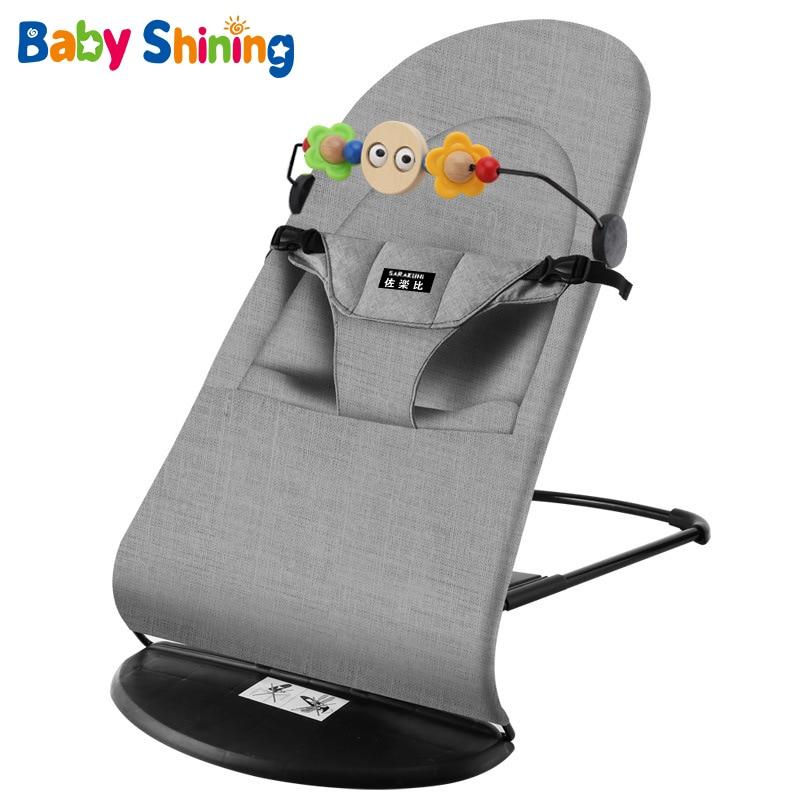 Coax Baby Artifact Baby Rocking Chair Comfort Chair Newborn Baby Recliner with Baby Sleep Artifact Child Cradle Bed