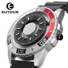 EUTOUR New innovative magnetic metal multi-function men's watch fashion sports quartz watch simple s