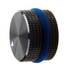 Massief Aluminium Eindversterker Knop Potentiometer Encoder Knop Audio Volumeknop 25x15.5 Mm