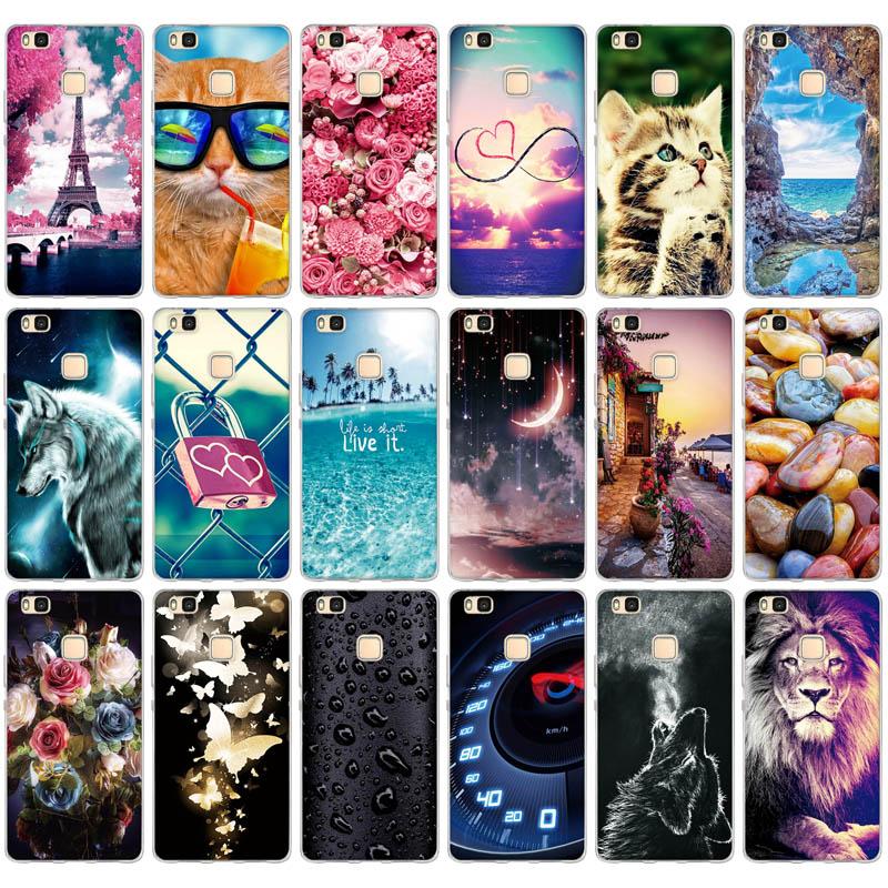 For Huawei P9 Lite 2016 Case Huawei G9 Lite Cover Soft Silicone Phone Case For Huawei P9 LITE P9LITE VNS-L21 L31 L23 5.2 inch