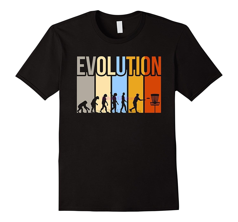 2020 nueva gran oferta camiseta de hombre Vintage disco Golfs evolución camiseta