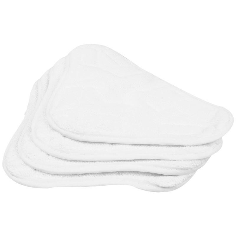 Nuevo-nuevo 4 Uds almohadillas de repuesto para H2O H20 X5 limpiador de mopa a vapor piso lavable microfibra almohadillas
