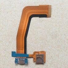 Pièce de réparation pour Samsung Galaxy Tab S 10.5 SM-T800 T805, support de carte mémoire MicroSD 3G, connecteur de Port de Charge, câble flexible
