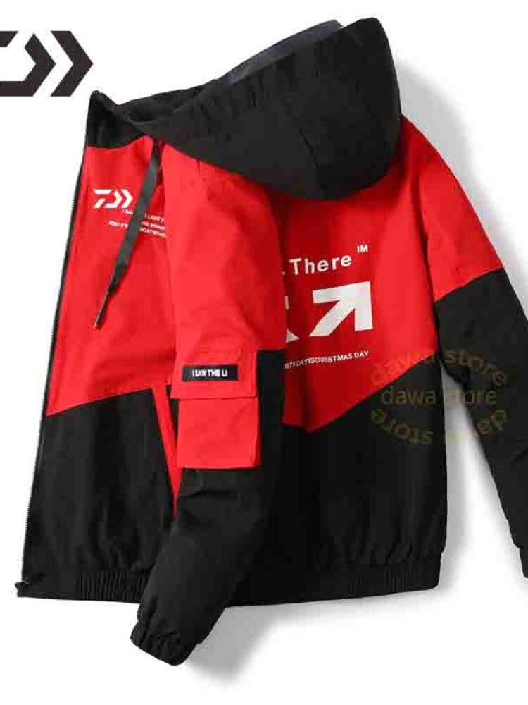 Одежда для рыбалки с капюшоном одежда для рыбалки пальто для улицы спортивные рубашки для рыбалки Мужская дышащая одежда для рыбалки куртк...