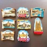 roma vatican florence san gimignano toscana italy fridge magnet travel souvenirs refrigerator magnetic stickers home decor