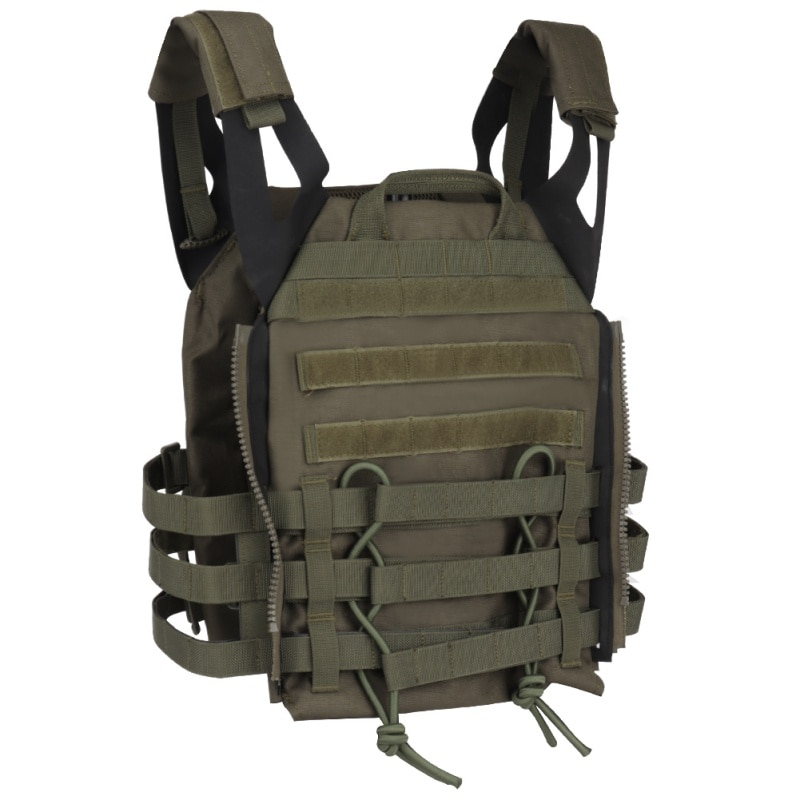 Caza táctico cuerpo armadura JPC Molle placa portador chaleco juego CS al aire libre Paintball Airsoft chaleco equipo militar caza chalecos
