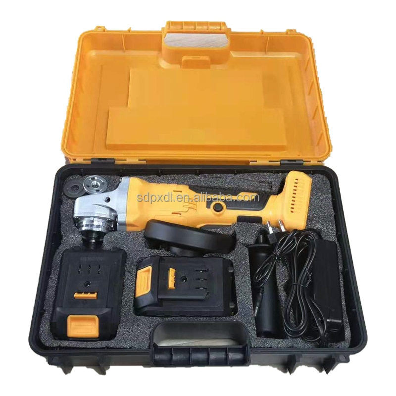 Power cordless tools Brushless angle grinder for dropshipping Russia Ukraine reseller enlarge