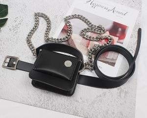 Luxury Brief Designer Fashion Women Waist Pack PU Leather Casual Belt Bags Ladies Luxury Women's Packs Waist Bag Female