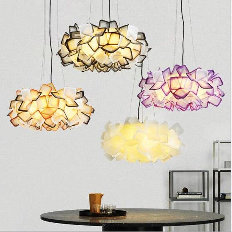 Slamp-مصباح سقف Led أكريليك فاخر ، تصميم جديد ، إضاءة داخلية مزخرفة ، مثالي لغرفة النوم أو المقهى.